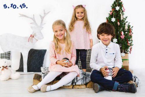 dzieci w świątecznej stylizacji 5.10.15