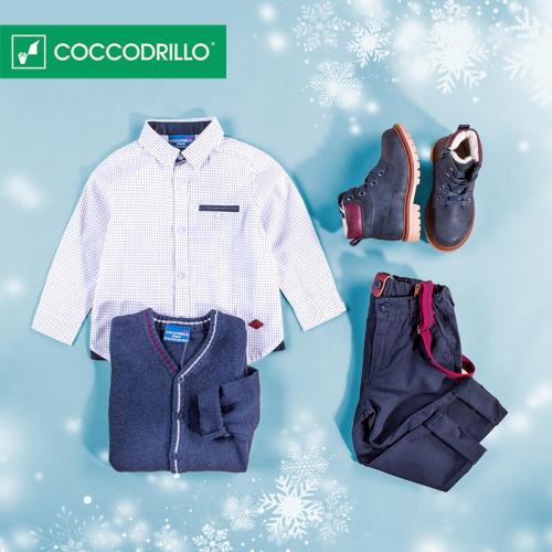 zimowa kolekcja marki coccodrillo