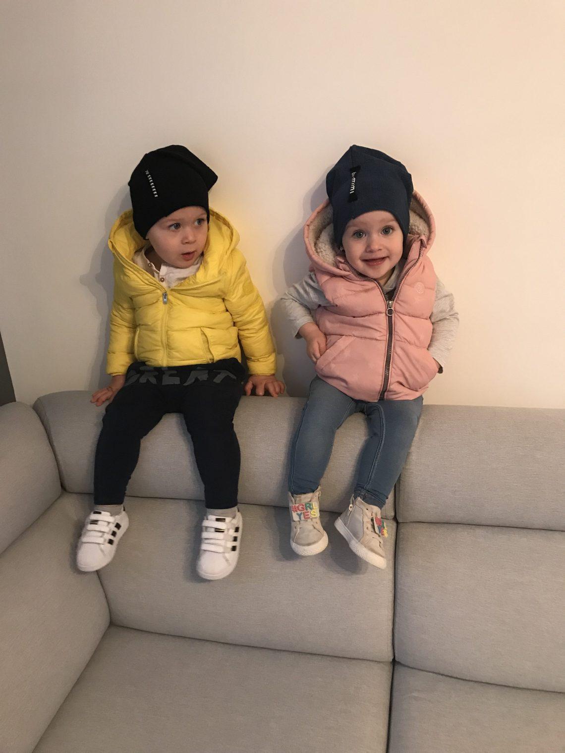 Dziecięca stylizacja – Nikola i Fabian