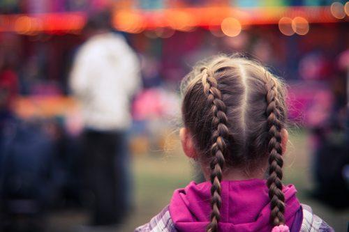 fryzura dal małej dziewczynki