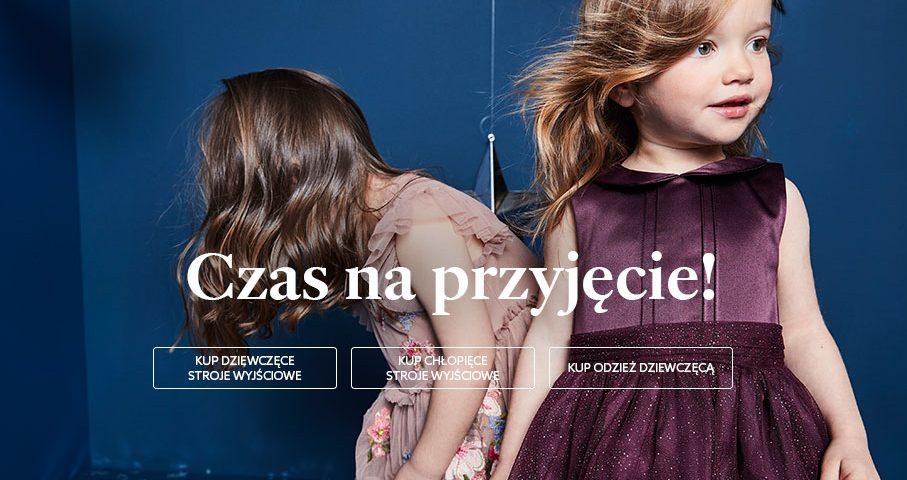 dziewczynki w sukienkach marki next