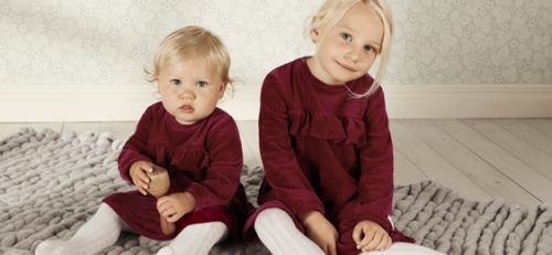 kolekcja eko newbie marki kappahl małe dziewczynki