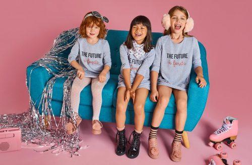 Dziewczynki w sukienkach z kolekcji Little Princess Mohito