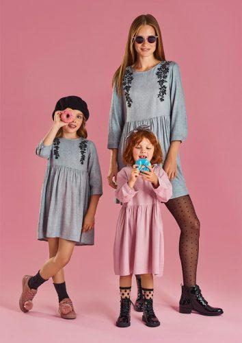 Mama i córka w ubraniach marki Mohito kolekcja Little Princess