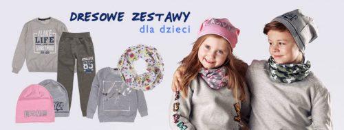 zestawy odzieżowe dla dzieci marki txm