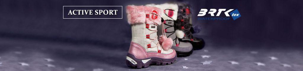 zimowe buciki firmy Bartek dedykowane dzieciakom