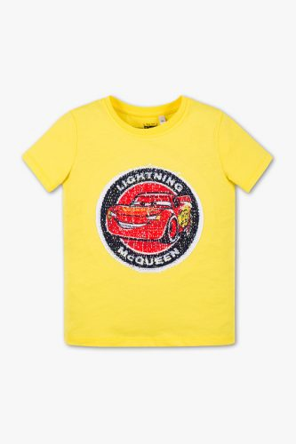 Bluzka C&A z obracanymi cekinami.