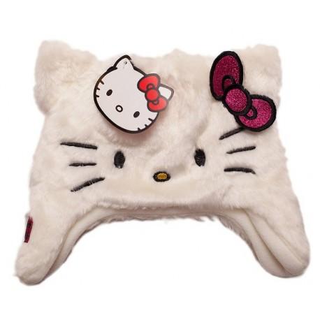 Czapka dla małej dziewczynki z Hello Kitty