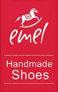 logo marki emel produkującej buty dla dzieci
