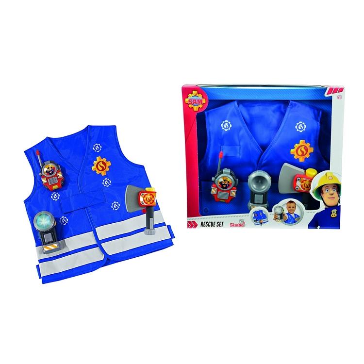 Ubrania dla dziecka z bohaterem bajki Strażak Sam