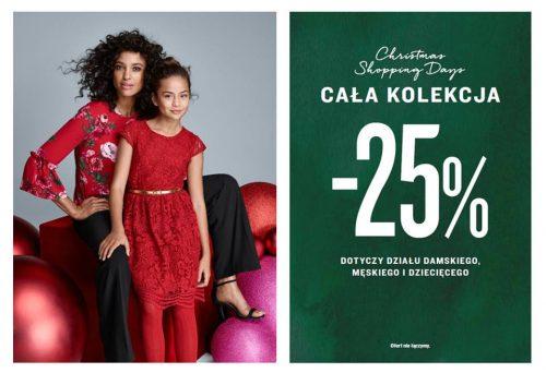 25% rabatu na świąteczne zakupy w Kappahl