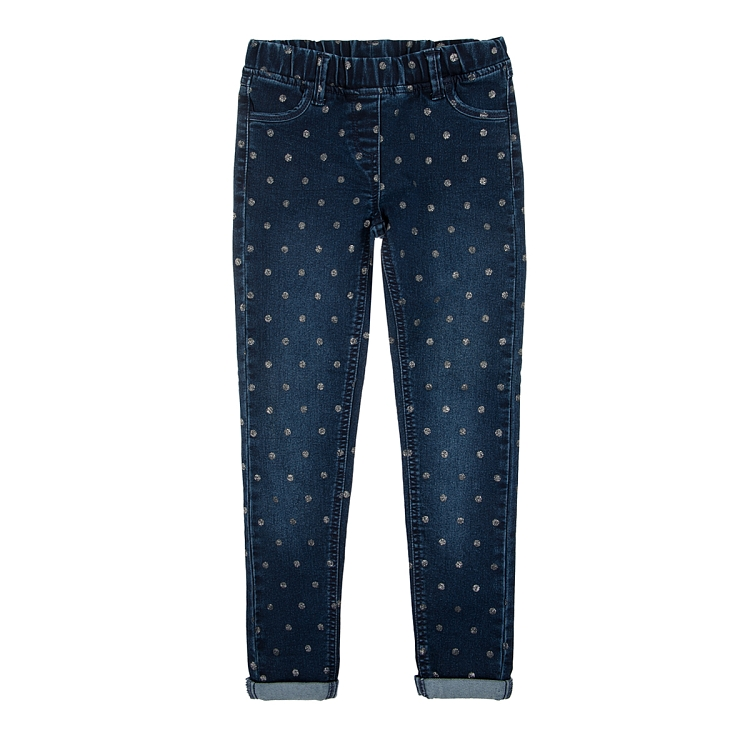 Klasyczne jeansy dla dzieci, spodnie jeansowe dziecięce