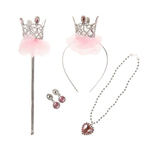 Strój księżniczki dla dziewczynki i akcesoria księżniczki