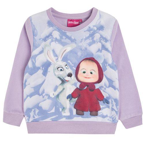 Bluza z bohaterami bajki Masha i Niedźwiedź
