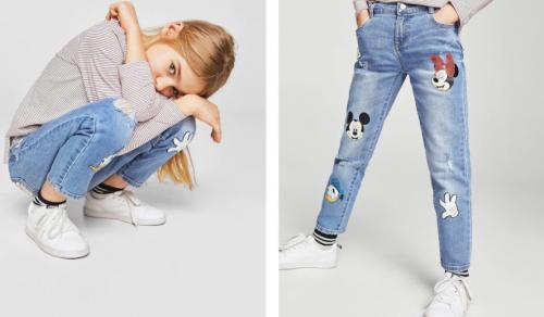 Ubrania marki Mango dziewczynka sesja nowa kolekcja