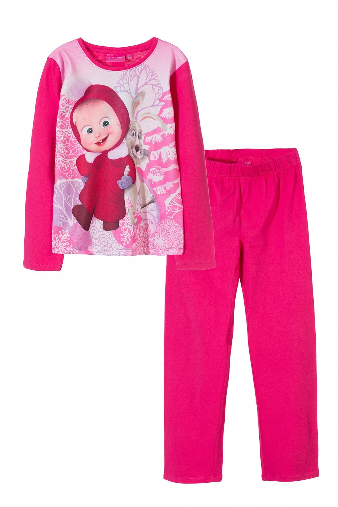 Piżama z bohaterami bajki Masha i Niedźwiedź
