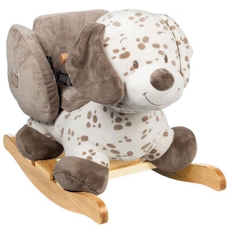 Konik na biegunach drewniany, interaktywny, plastikowy. Zabawki dla dzieci.