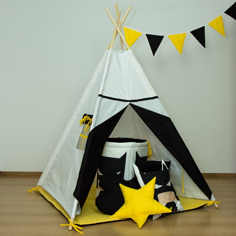 kolorowe tipi dla dziecka, namiot z fifishop