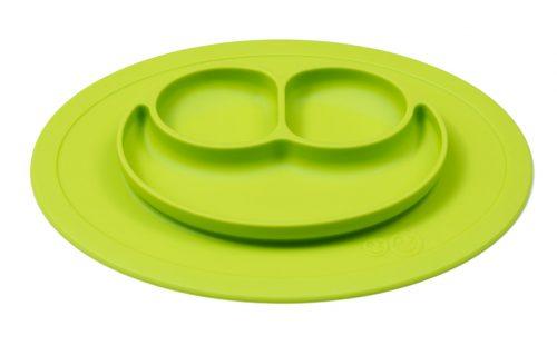 Talerz silikonowy, mata silikonowa, do samodzielnego jedzenia dziecka