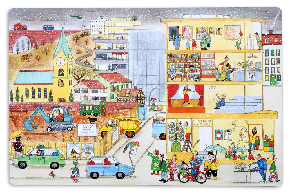 Książka z serii Na ulicy Czereśniowej - środek