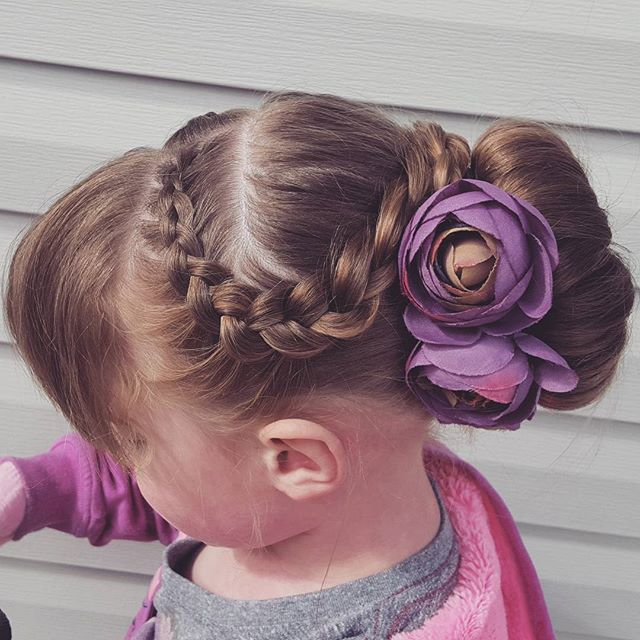 Eleganckie fryzury dla dziewczynek na wyjątkowe okazje