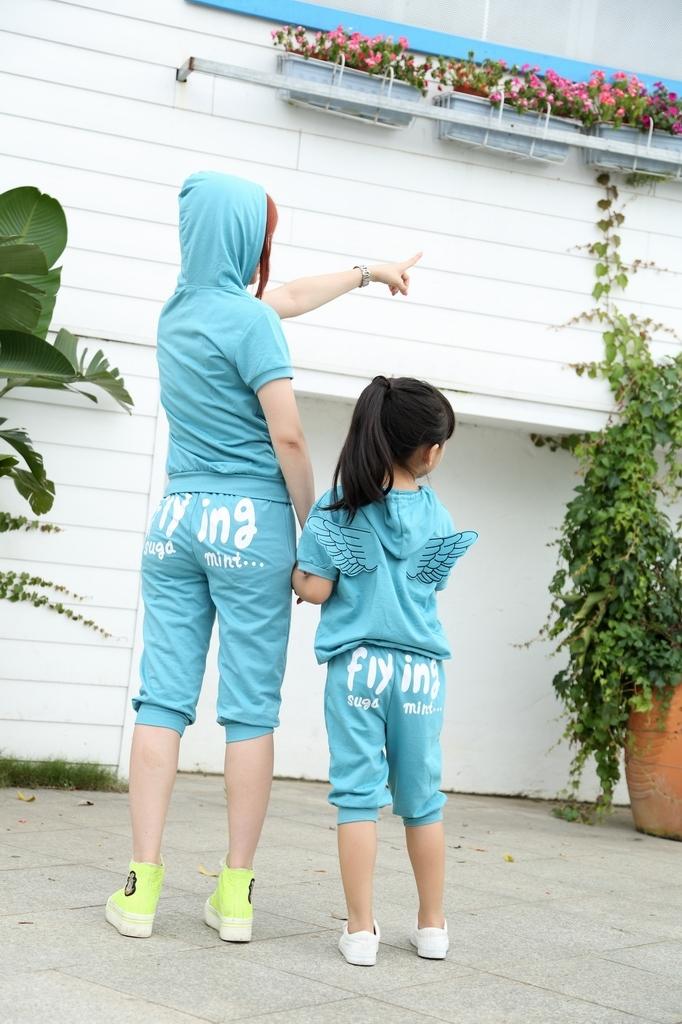 Tanie zakupy na aliexpress, zestawy dla mamy i córki