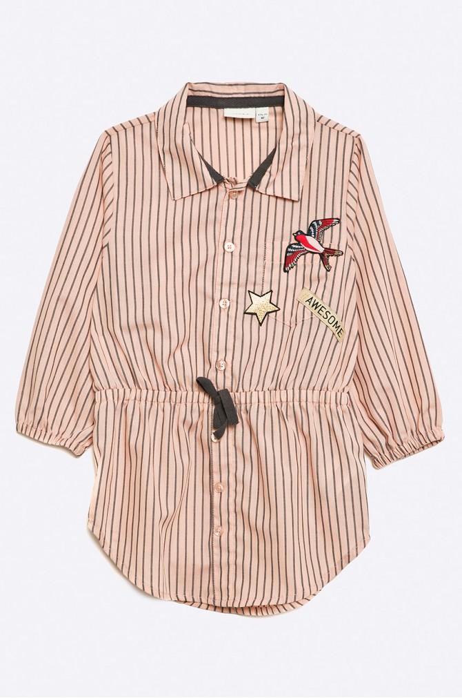 Szmizjerka sukienka koszulowa dla dziewczynki marki answear
