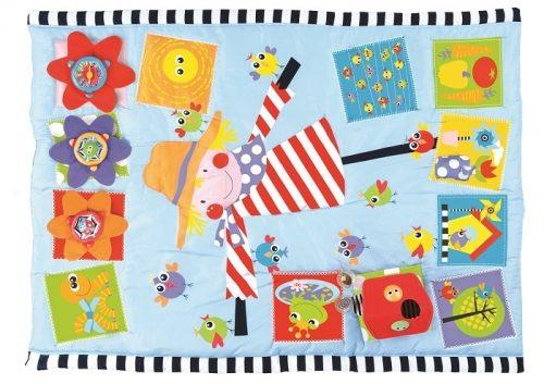 Kolorowa mata edukacyjna dla dziecka