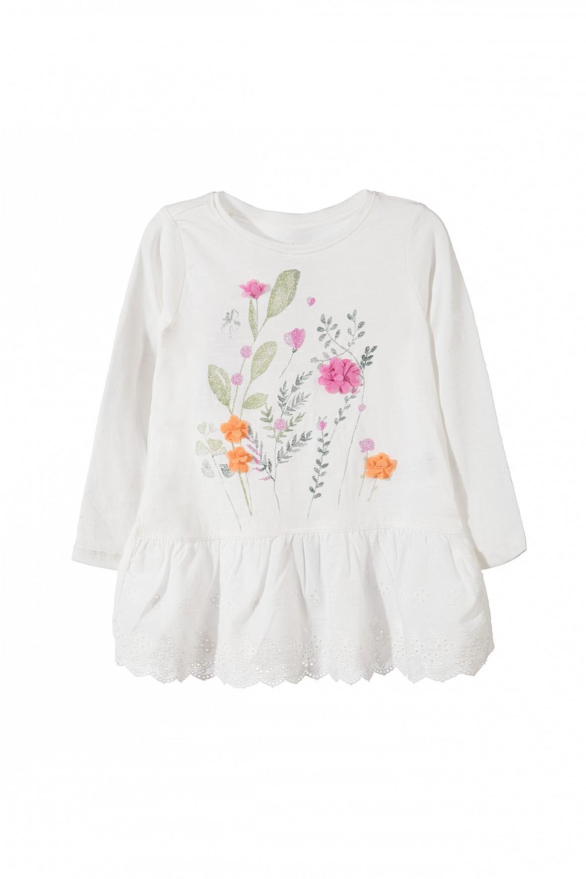 Baskinka, bluzka dla dziewczynek, trendy sezonu