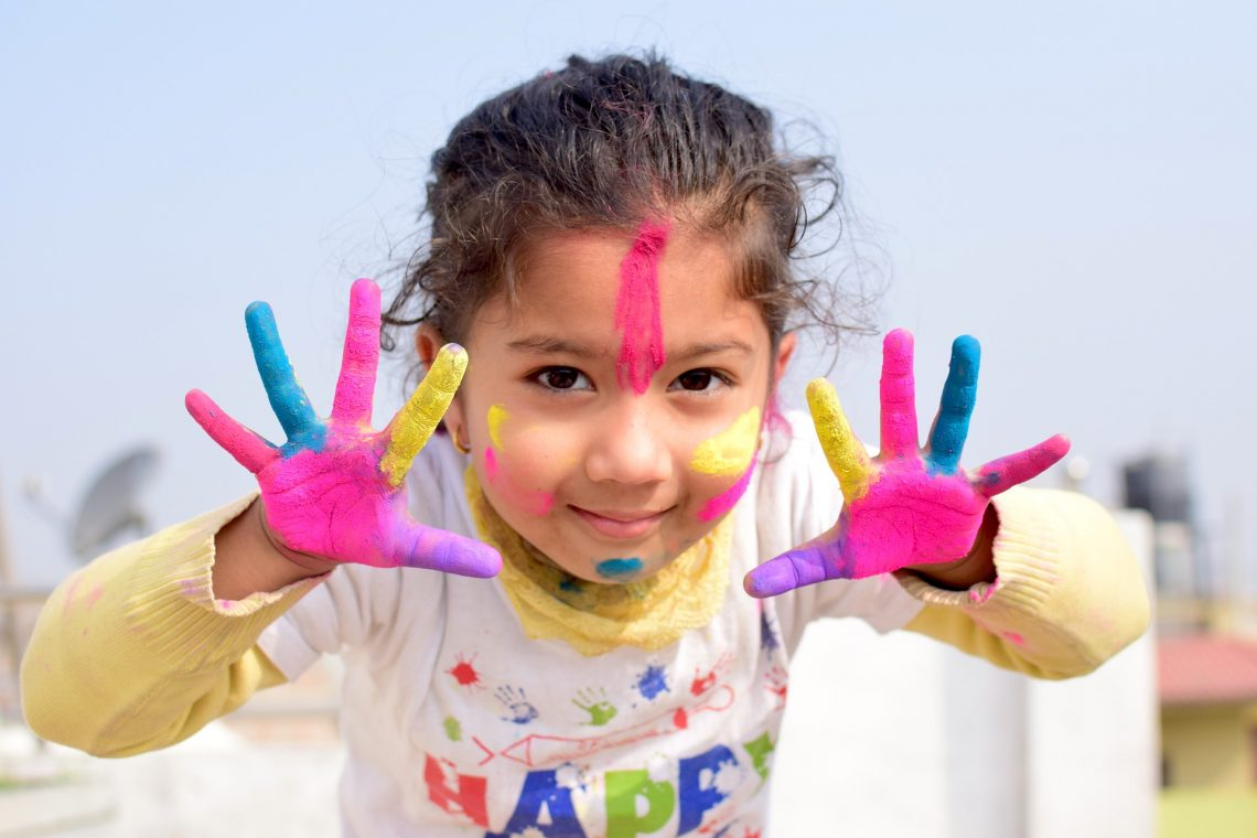 farby do malowania palcami dla dzieci