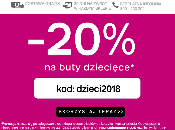 promocja wiosenna deichmann 2018