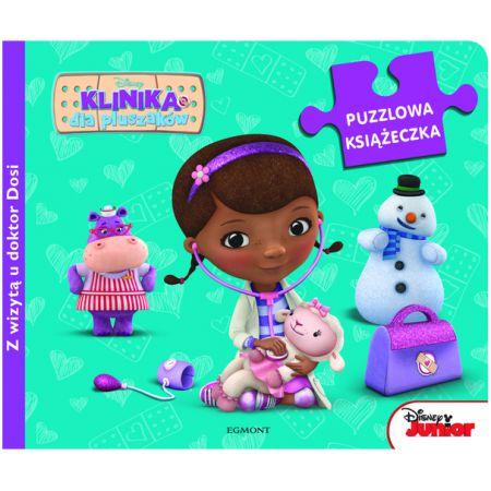 Książeczka dla dzieci z puzzlami do układania - puzzlowa książeczka
