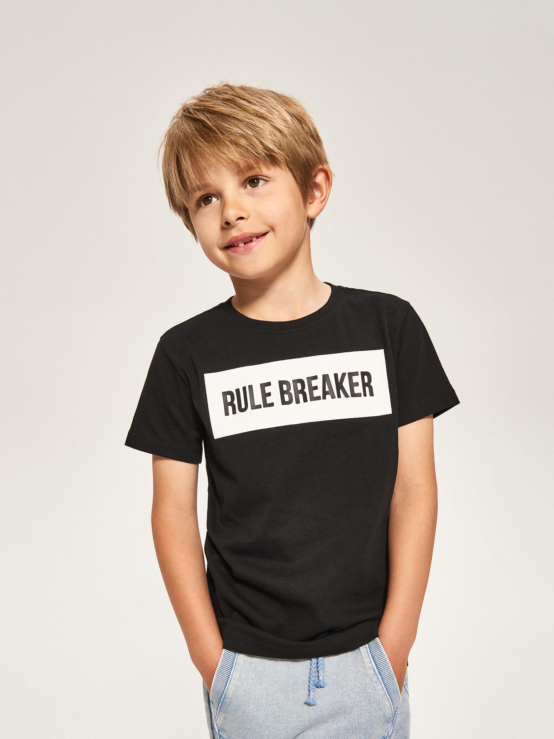 koszulki ojciec i syn reserved mini me rule breaker
