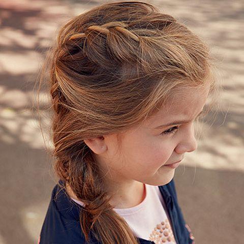 fryzura dla dziewczynki do szkoły