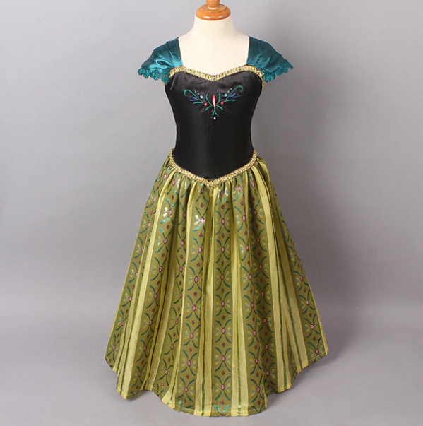 stroj na balik sukienka księżniczki anna