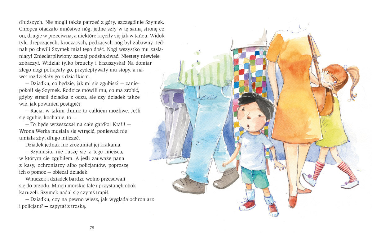książka dla dziecka dla najmłodszych bajkoterapia bajki-pomagajki środek