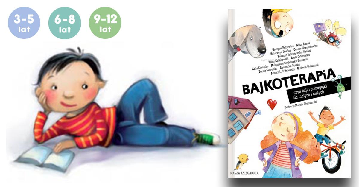 książka dla dziecka dla najmłodszych bajkoterapia bajki-pomagajki