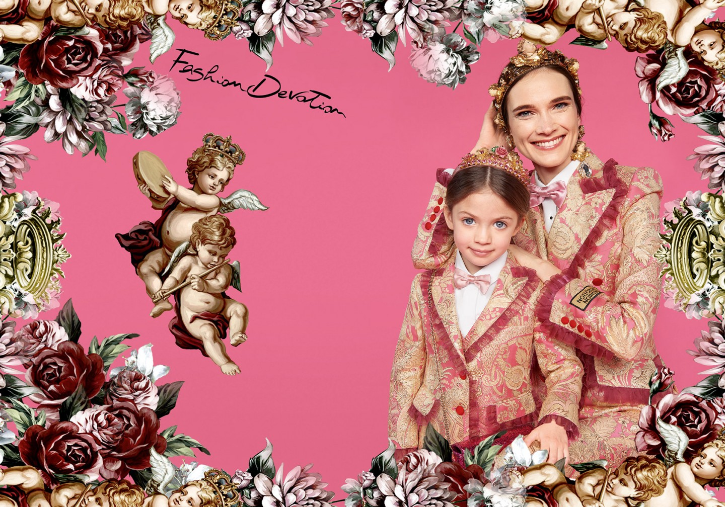 dolce and gabbana mini me collection