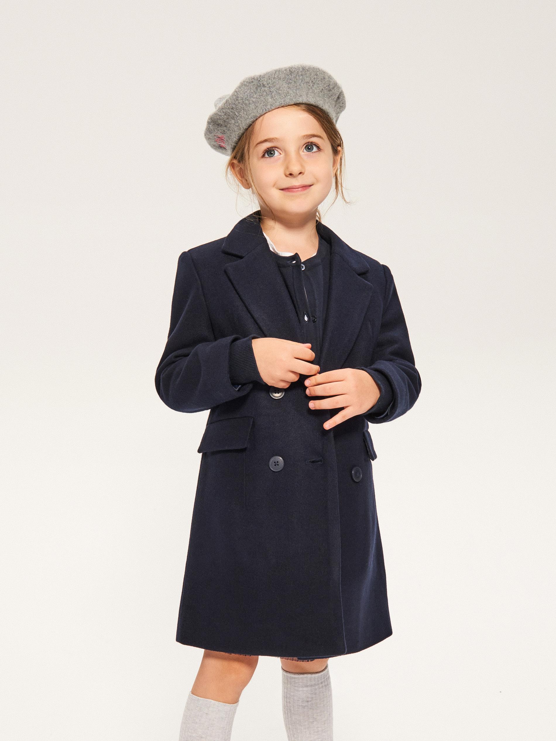 płaszczyk na zimę dla dziewczynki