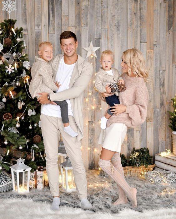 Rodzinna sesja świąteczna