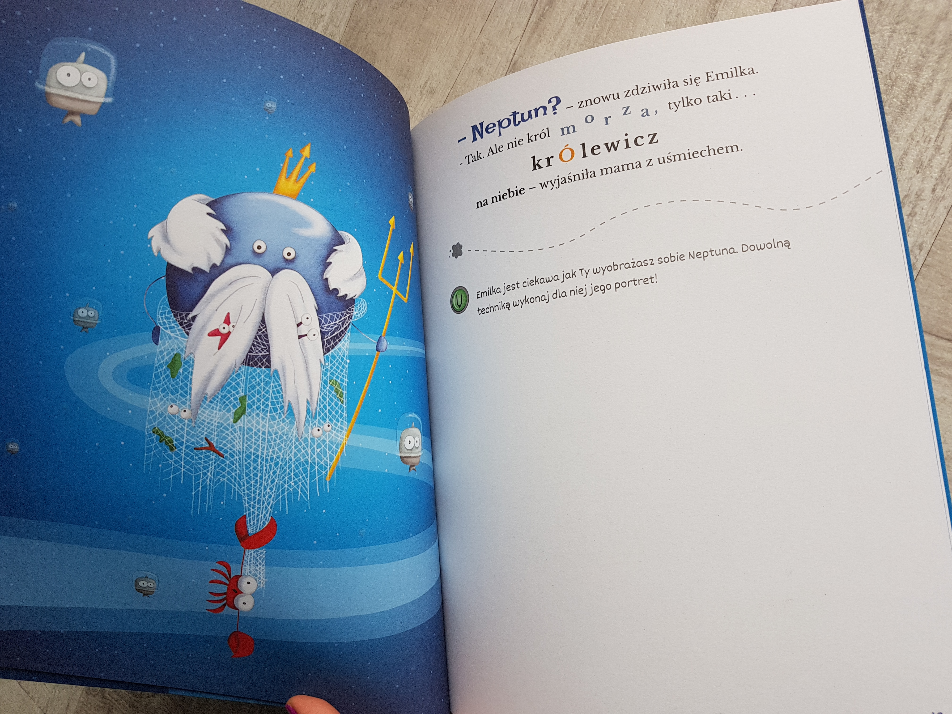 emilka i gwiazdka z nieba książka dla dzieci 3 lata 4lata 5lat 6 lat